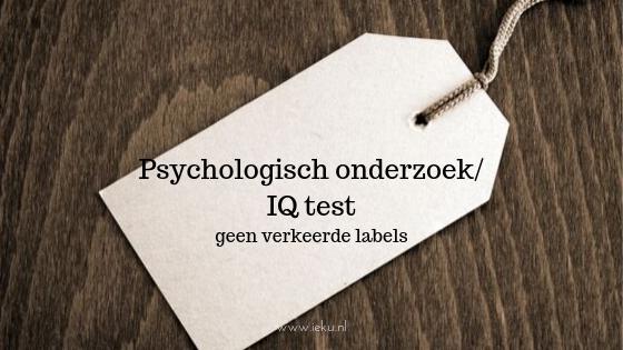 psychologisch onderzoek